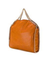 Stella McCartney Orange Falabella Small Tote