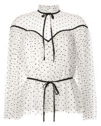Alice McCALL Multicolor Space Odyssey Pin-dot Blouse