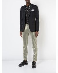 Tom Rebl - Metallic Trousers for Men - Lyst