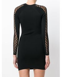 Alexander Wang Black Cut Out Mini Dress
