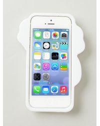 Philipp Plein White 'j'adore' Iphone 5/5s Phone Case