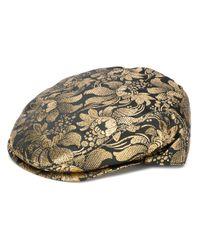 Dolce & Gabbana ジャカード ベレー帽 Black
