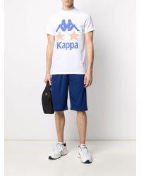メンズ Kappa サイドロゴ ショートパンツ Blue