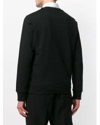 Sudadera con calavera bordada Alexander McQueen de hombre de color Black