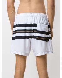 メンズ Osklen Longboard ショートパンツ White