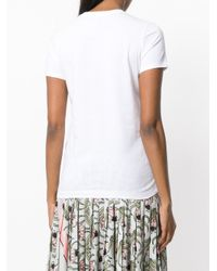 Markus Lupfer White Champagne Girl Knitted Tee