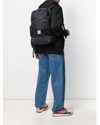 メンズ Adidas ロゴパッチ バックパック Black