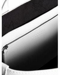 Burberry - White Medium Logo Embossed Tote - Lyst