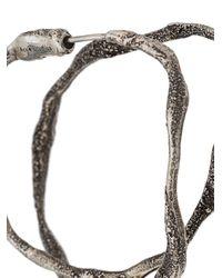 Acne Metallic Double-hoop Earring