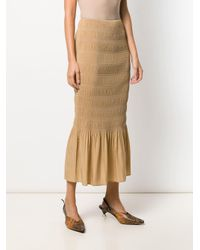 Totême  フリルトリム スカート Multicolor