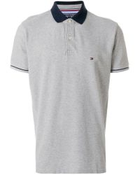 Tommy Hilfiger Gray 1985 Classic Regular Fit Polo Shirt for men