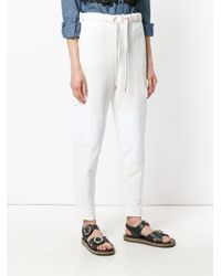 See By Chloé White Cargo Track Pants