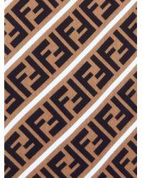メンズ Fendi Ff インターシャスカーフ Multicolor