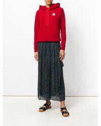 Étoile Isabel Marant Black Belina Printed Skirt