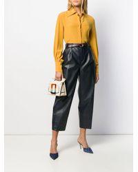 Pantaloni crop Daisy di PT01 in Multicolor