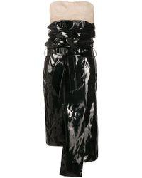Vestito asimmetrico a strati di ROKH in Black