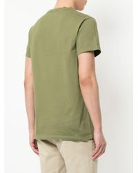 Lion crest T-shirt di Kent & Curwen in Green da Uomo