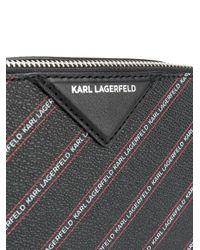Karl Lagerfeld K/stripe カメラバッグ Black