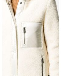 Woolrich パデッドコート White