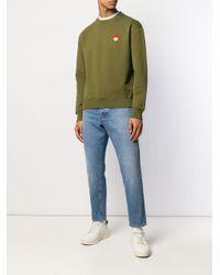 Sudadera con cuello redondo AMI de hombre de color Green