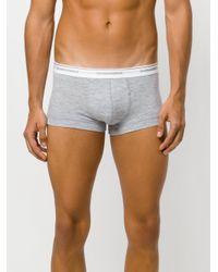 DSquared² | Gray Logo Printed Trunks for Men | Lyst