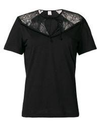 Pinko Black Lace T-shirt