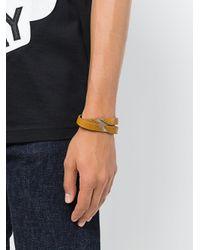 DIESEL - Brown Aline Bracelet for Men - Lyst
