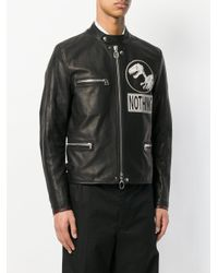Lanvin Black Nothing Zipped Jacket for men