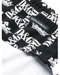 メンズ Dolce & Gabbana ロゴ ブリーフ水着 Multicolor