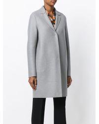 Harris Wharf London ウール シングルコート Gray
