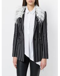 Ann Demeulemeester - White Feather Necklace - Lyst