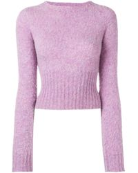 Victoria Beckham クルーネック セーター Multicolor