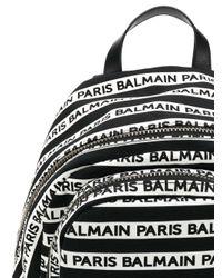 Petit sac à dos Urban Balmain pour homme en coloris White