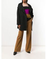 Vanessa Bruno Double Breasted Coat Black