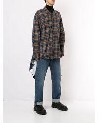メンズ Wooyoungmi チェック シャツ Multicolor