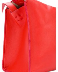 Aesther Ekme Red Soft Box Bag