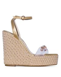 Sandales Dina 140 Sophia Webster en coloris Metallic