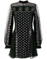 Dodo Bar Or | Black Multi Print Dress | Lyst