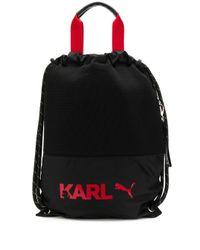 Karl Lagerfeld X Puma バックパック Black
