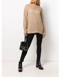 Maglione ampio di Twin Set in Brown