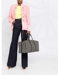 Balmain ツイード パデッドジャケット Pink
