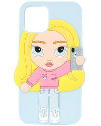 Chiara Ferragni Mascot Iphone 11 Pro ケース Blue