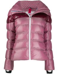Rossignol ストライプ スキージャケット Pink
