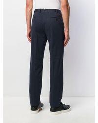 Pantaloni da abito di Ermenegildo Zegna in Blue da Uomo