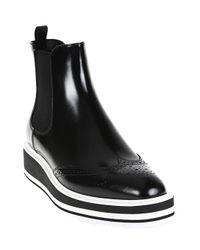 Prada Black Booties