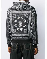 Maglione con stampa di Versace in Black da Uomo