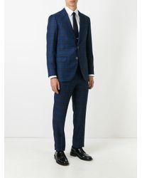 メンズ Fashion Clinic Timeless ツーピース フォーマルスーツ Blue