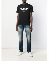 メンズ Emporio Armani New York Tシャツ Black