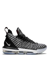 Nike Black Lebron Xvi Sneakers for men