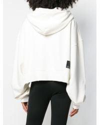 Unravel Project フーデッド ボンバージャケット White